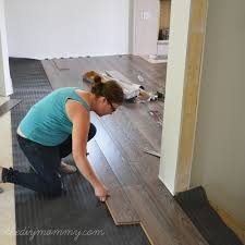 installing laminate flooring by the diy mommy allen roth provence oak laminate from