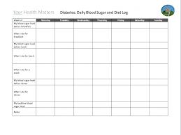 Printable Diabetic Food Chart 23 Meticulous Diabetic Intake Chart