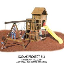 kodiak custom diy play set hardware kit