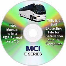mci bus parts mci bus e series service parts manual cd version