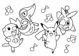 Pokemon Energy Coloring Pages Golfclub