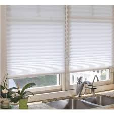 fabric blinds. Beautiful Blinds This Review Is FromWhite Fabric Corded Light Filtering Pleated Shade  36  In W X 72 L On Blinds