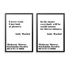 Andy Warhol Quotes Unique Andy Warhol Quotes Impressive There Is Beauty In Everything Just Not