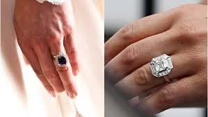 Kate middletons ring is a ring that has long been kept in the british empire after princess diana died. Whose Bling Is Better Pippa S Or Kate S