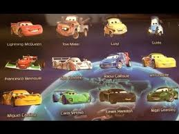 pixar cars characters names. Wonderful Cars Disney Pixar Cars 2 Movie Characters Including Lightning McQueen Tow Truck  MaterSilently Enjoy And Names L