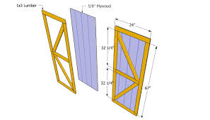 Building Barn Doors Plans For Modern Concept Free Lean To Shed ...