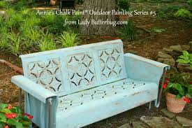 outdoor chalk paint chair 7 diy chalk paint projects