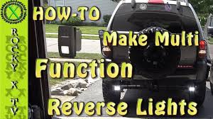 Led Auxiliary Backup Lights How To Make Aux Reverse Lights Multi Functional Spdt Switch