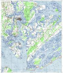 download topographic map in area of parris island beaufort