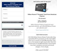 amex hilton surp 100k refer a friend form
