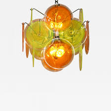 listings furniture lighting chandeliers and pendants tangy yellow and orange