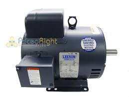 5 hp electric motor 5 hp single phase leeson electric compressor motor 184t frame c184k17db31a 230 v