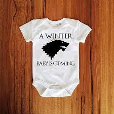 Personlize Game Of Thrones Birthday Baby Shower Bodysuit Pregnancy