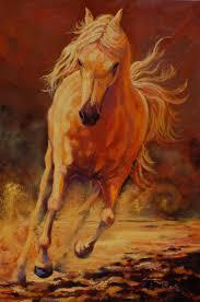 mystique oil 36 x 24 ritch gaiti art of the horse gaiti com