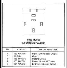 electronic flasher unit wiring diagram wiring diagram and schematic Electronic Flasher Wiring Diagram a solid state electronic flasher unit 6 pin 12v dc 2 Prong Flasher Wiring-Diagram