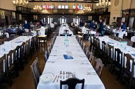 The Hill School Dining Room - School dining room tables