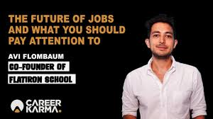 The future of jobs and what you should pay attention to by Avi Flombaum -  Flatiron School - YouTube