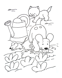 A Imprimer Chat 4 Coloriages De Chats Coloriages Enfants Biboon