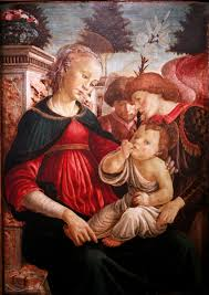virgin and child with two angels c 1468 1469 sandro botticelli