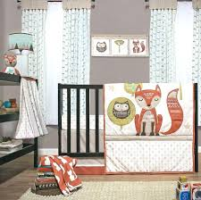 levtex baby fiona 5 piece crib bedding set fox sheets room themes girl
