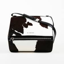 Givenchy Pandora Size Chart Givenchy Medium Pandora Box Shiny Black Cow Shoulder Bag Ebay