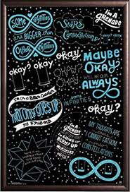 Quotes From The Fault In Our Stars Beauteous Amazon Framed The Fault In Our Stars Quotes Based On The
