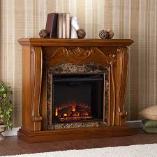 3 cardona electric fireplace mantel package in walnut fe9664 3