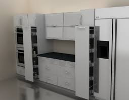 Ikea Kitchen Cabinet Shelves Ikea Pantry Area Pulloutjpg