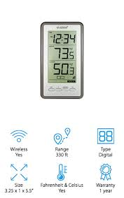 la crosse technology thermometer best indoor outdoor thermometers