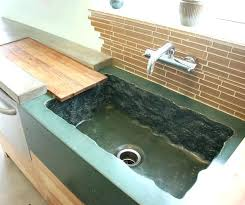 concrete sink diy concrete sink concrete sinks grow in popularity and fit a range of design