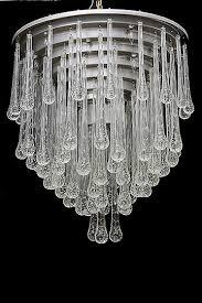 murano drops chandelier