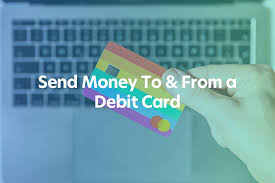 Alternatively, make a wire transfer or a money transfer, or use a credit card convenience check. Send Money To Or From A Debit Card Instantly Moneytransfers Com