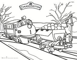 Small Picture Free Printable Chuggington Coloring Page Printable Coloring