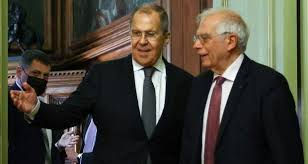 Image result for Josep Borrell in Russia images