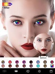 magic eye color face makeup 4