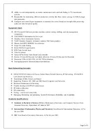 Saber New Broadcast Resume