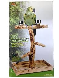 bird stand natural tree diy lg