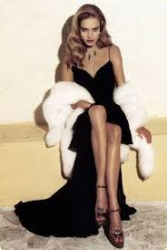hollywood glamour: fur old hollywood glamour topshoppromqueen more