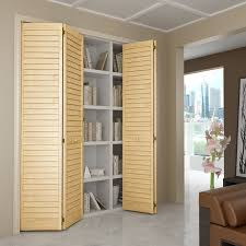tall louvered bifold closet doors