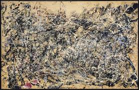 number by jackson pollock