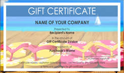 travel voucher template free travel gift certificate templates easy to use gift