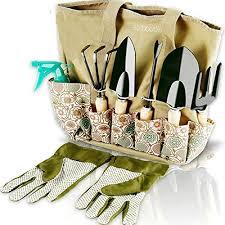 8 piece heavy duty gardening kit with