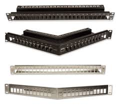 network patch panels category 5e 6 6a and 7 modular patching category 7a patch panels