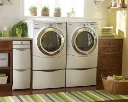 Decorations:Simple Laundry Room Design In Light Brown Color Idea Fresh Decor  Laundry Room With