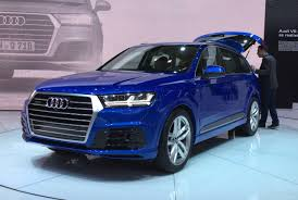 2015 NAIAS: 2016 Audi Q7 gets redesigned, loses over 700 pounds ...