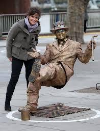 jane fryer pictured left meets paul golden man edmeades in central london