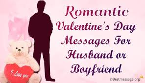 Romantic Valentine's Day 40 Messages For Husband And Boyfriend Unique Good Morning Love Messages For Boyfriend On Valentine Day