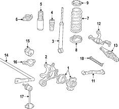 com acirc reg hyundai sonata shocks components oem parts 2009 hyundai sonata se l4 2 4 liter gas shocks components