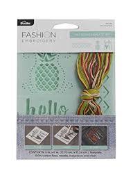 Bucilla To Dmc Floss Conversion Chart Shop Bucilla Needle Arts Embroidery Template Kit Multicolor