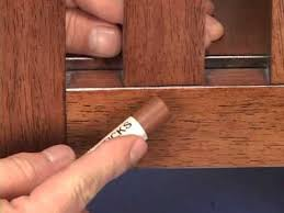 fix small chips or gouges in wood with fill sticks